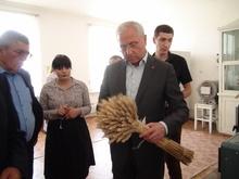 ՀՀ գյուղատնտեսության նախարարի այցը Շիրակի մարզ