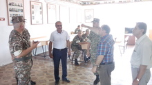 Հանդիպում ՀԳՄ Շիրակի մարզային բաժանմունքի գրողների հետ