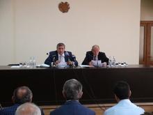 Համապետական շաբաթօրյակի նախապատրաստություններ,  <Մաքուր Հայաստան> ծրագրի ընթացիկ աշխատանքների քննարկում