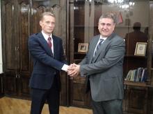 Շիրակի մարզպետն ընդունեց  Գյումրիում ՌԴ նորանշանակ հյուպատոս Ալեքսանդր Կոպնինին