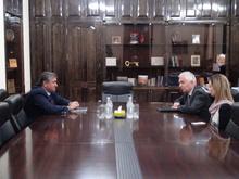 Շիրակի մարզպետը հյուրըկնալել է Հայաստանում ԵՄ դեսպան Պյոտր Սվիտալսկիին