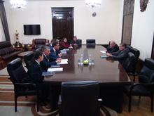 Հանդիպում ՀՀ Մարդու իրավունքների պաշտպանի հետ
