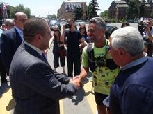 Խաղաղության վազք Մարսելից Երևան