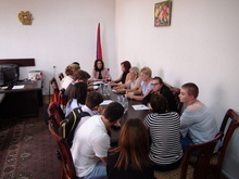 Հանդիպում Հայաստան-Գերմանիա դպրոցների փոխանակման միջազգային ծրագրի ներկայացուցիչների հետ