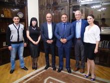 Հանդիպում «Հայկական ծրագրեր, Գյունտեր Պետեր» կազմակերպության ծրագրերի համակարգող, պրոֆեսոր Գյունտեր Պետերի հետ