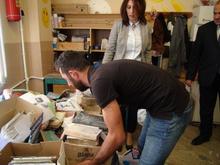 Գյումրիում իրականացրել է «Թուղթը աղբ չէ» խորագրով բնապահպանական ակցիան