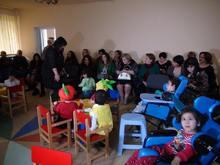 «Երեխաների տանն» այսօր անցկացվել է «Աշուն» խորագրով բաց դաս-միջոցառում