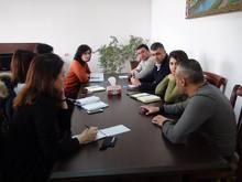 Հանդիպում Unicef-ի սոցիալական պաշտպանության, հաշմանդամության և կրթության ծրագրերի պատասխանատուների հետ