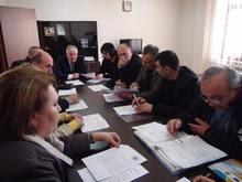 Տեղի է ունեցել «Զբաղվածության աջակցության Շիրակի մարզային հանձնաժողովի» հերթական նիստը