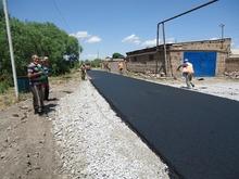 Լուսակերտ համայնքի ներհամայնքային ճանապարհի ասֆալտապատման աշխատանքներն ավարտաին են մոտենում