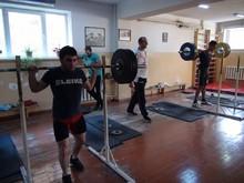 Շիրակի մարզպետն այցելել է Գյումրու ծանրամարտի մարզադպրոց