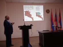 Քննարկում «Շիրակի մարզի քաղաքների և որոշ գյուղերի տարածքների սեյսմիկ վտանգն ու ռիսկը» թեմայով