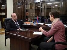 Հանդիպում Ավստրիական Զարգացման Գործակալության հայաստանյան գրասենյակի փոխտնօրենի հետ