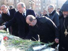 Գյումրիում հարգեցին 1988 թվականի ավերիչ երկրաշարժի անմեղ զոհերի հիշատակը