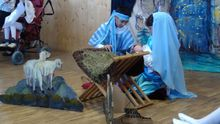 Գյումրու «Էմիլի Արեգակ» ցերեկային խնամքի կենտրոնում տեղի է ունեցել միջոցառում՝ նվիրված Սուրբ Ծննդյան տոներին