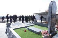 Այցելություն «Շիրակ» գերեզմանատան ազատամարտիկների պանթեոն
