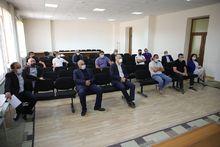 Շիրակի մարզպետ Տիգրան ՊԵտրոսյանն այսօր հանդիպել է մարզում գործող շինարարական կազմակերպությունների ներկայացուցիչներին