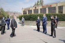 Հանրապետության նախագահ Արմեն Սարգսյանն այսօր կարճատև աշխատանքային այցով եղել է Գյումրիում