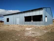 Մարմաշեն համայնքի Մայիսյան բնակավայրում ընթացքի մեջ են թեթև և ծանր տեխնիկայի կայանման սպասարկման կենտրոնի շենքի կառուցման աշխատանքները