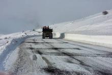 Շիրակի մարզում ձյուն է տեղում, սակայն փակ ճանապարհներ մարզում չկան