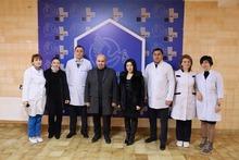 Հունվարի 6-ին ֆրանսիացի բժիշկների խումբը՝ բժիշկ Լևոն Խաչատրյանի գլխավորությամբ խորհրդատվություն են անցկացրել Գյումրու բժշկական կենտրոնում և Գյումրու ծննդատանը