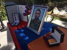 Գյումրու Շիրակացի փողոցում բացվել է հայրենիքի համար կյանքը զոհաբերած Սամվել Արթուրի Հովակիմյանի հիշատակին նվիրված խաչքար