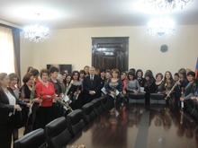 Մարզպետը շնորհավորեց կանանց մարտի 8-ը